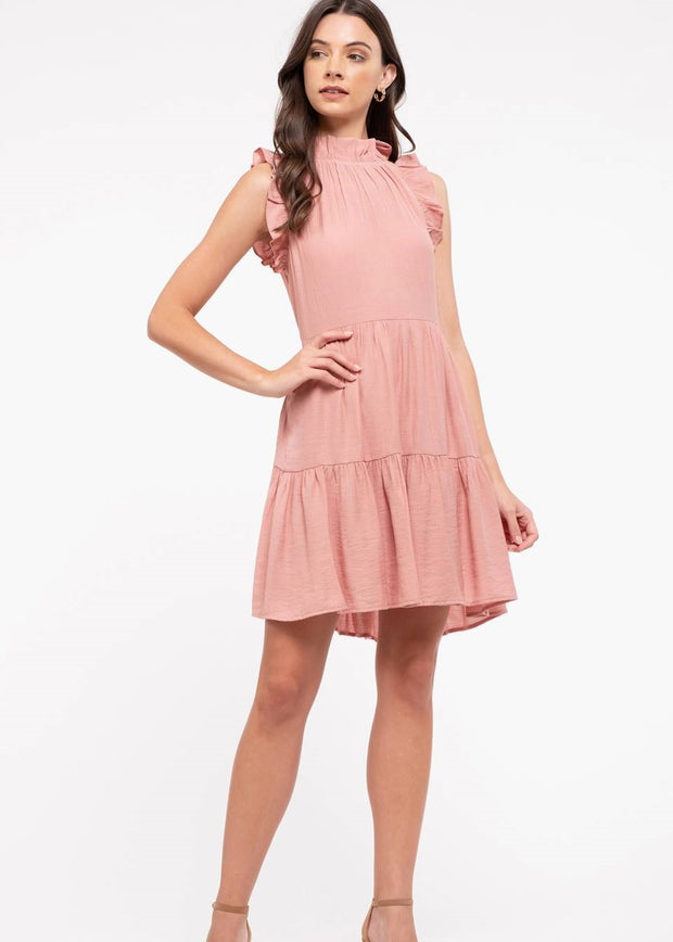 Blush Tie Knit Dress