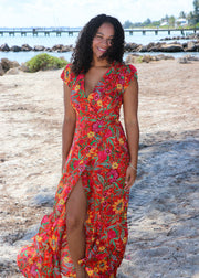 Monte Carlo Wrap Dress by XIX Palms