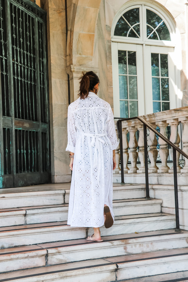 The Eyelet Lace Duster