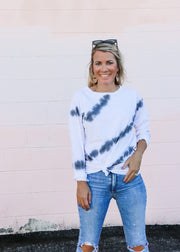 Tie-Dye Long Sleeve Tee