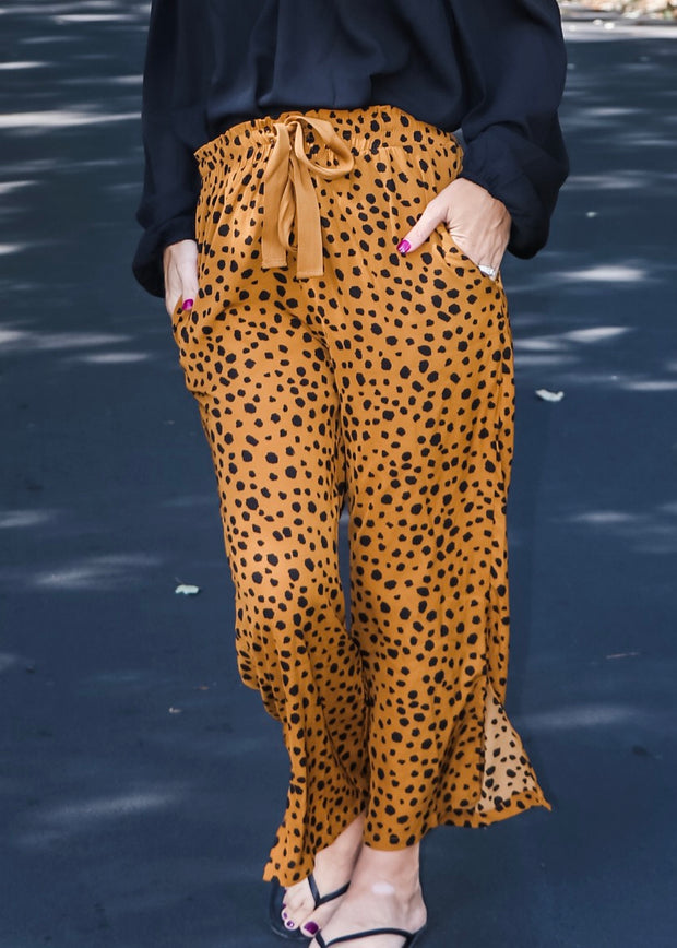 We Mean Business Cheetah Print Pant