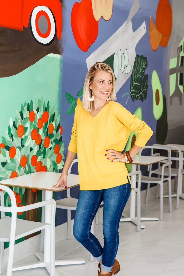 Cozy Tunic Sweater (6 Colors)