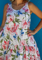 Floral Sleeveless Dress