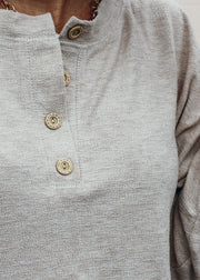 Casual Tan Pullover Top