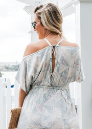 Anything But A Cold Shoulder Dress