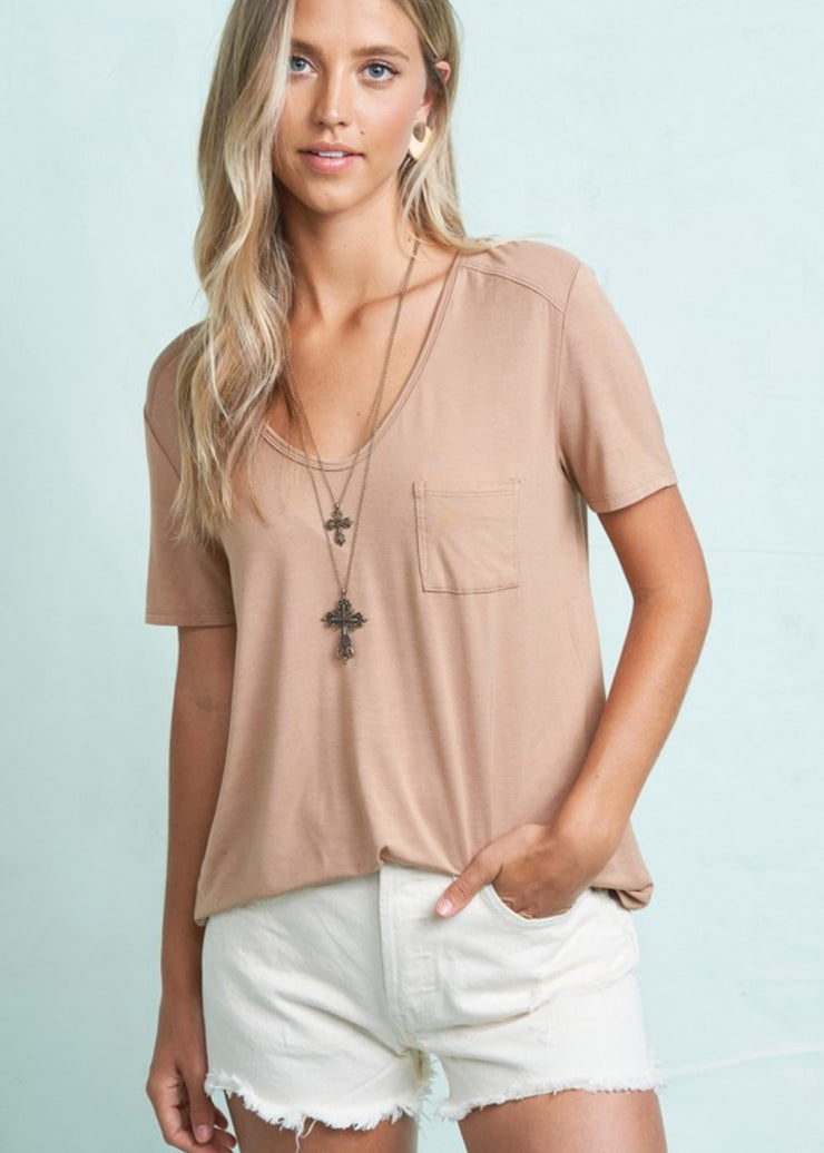 Relaxed Style Perfect Tee (4 colors)