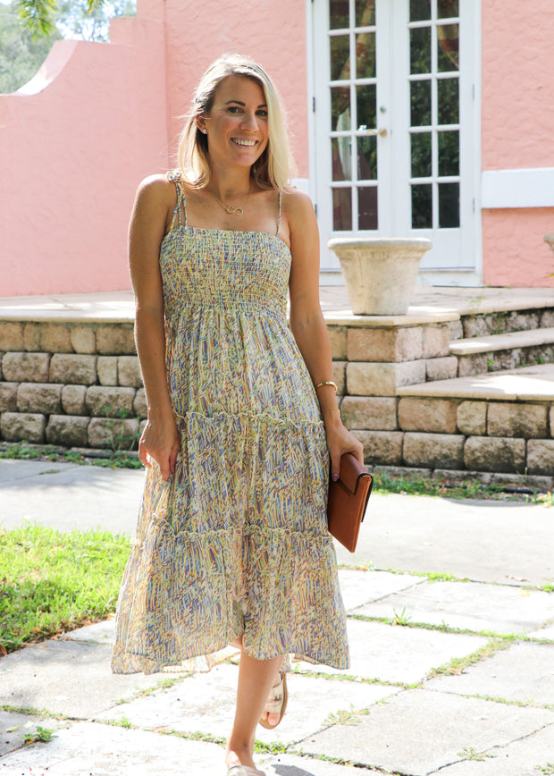 Confetti Tie Dress