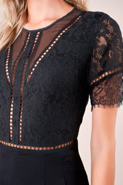 Downtown Lace Romper