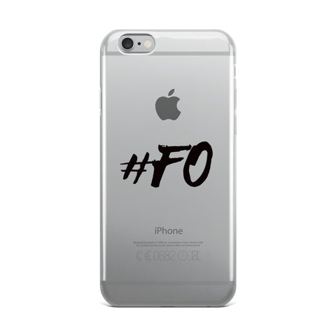 "Spencer Ware ""#FO"" IPhone Case"