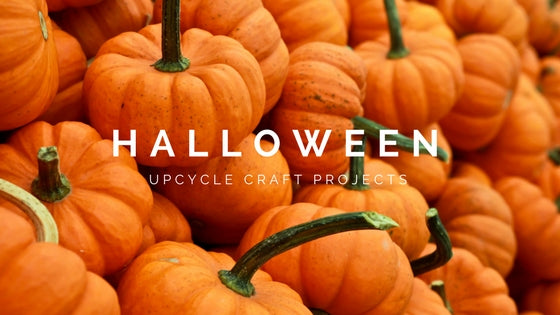 Halloween Upcycle Craft Projects