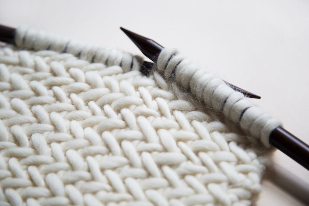How To Knit Herringbone Stitch Naturally Knotty