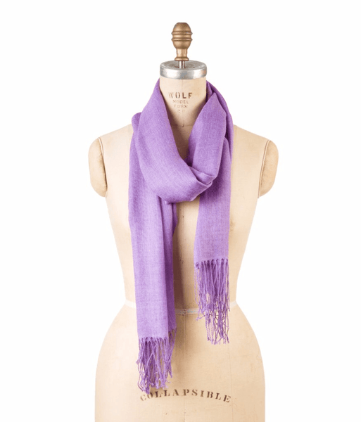 Bamboo Wool - Amethyst Orchid