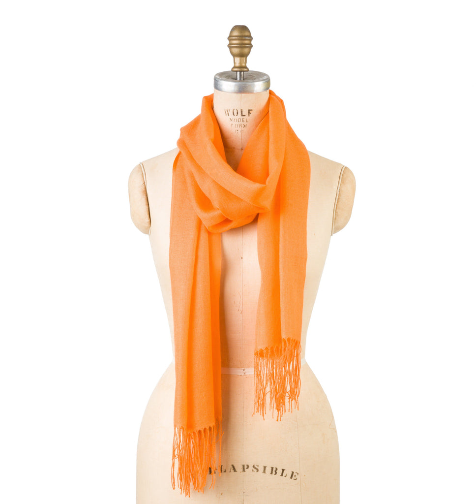 Bamboo Wool - Celosia Orange