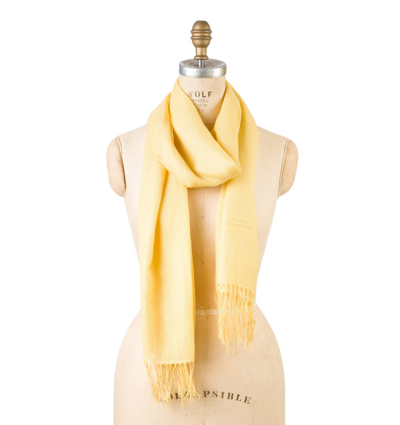 Bamboo Wool - Misted Yellow