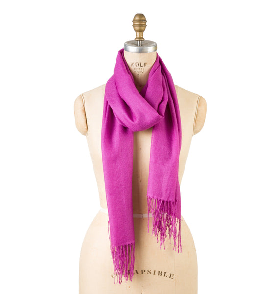 Bamboo Wool - Purple Wine
