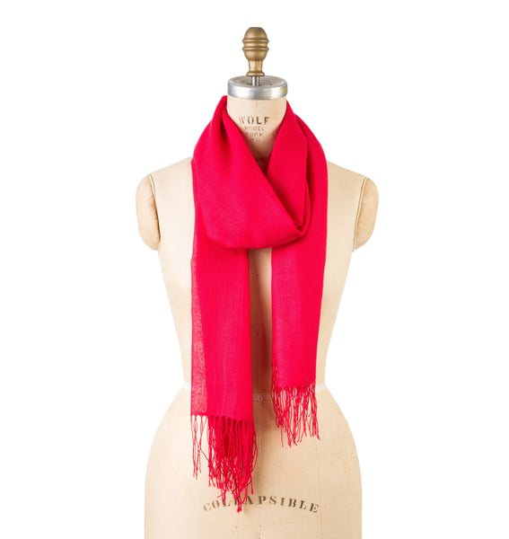 Bamboo Wool - Red