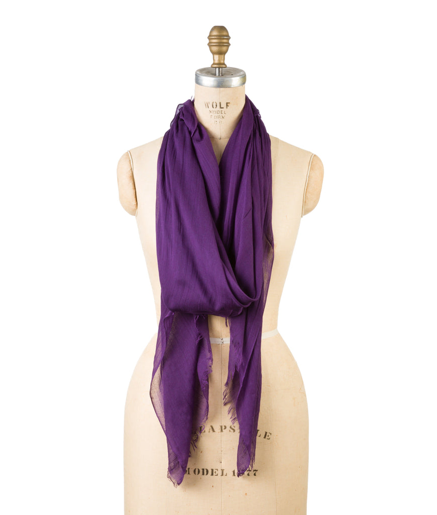 Silk Modal - Purple