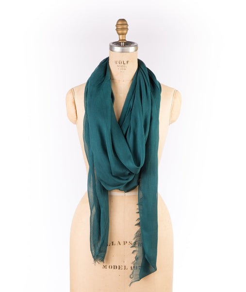 Merino Wool Modal - Deep Teal