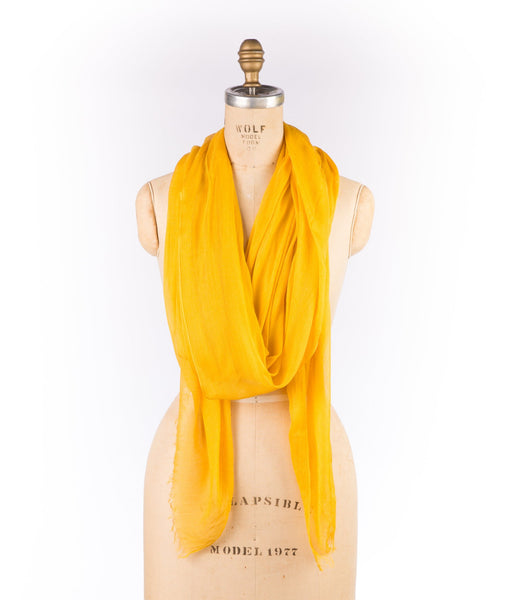 Merino Wool Modal - Golden Rod