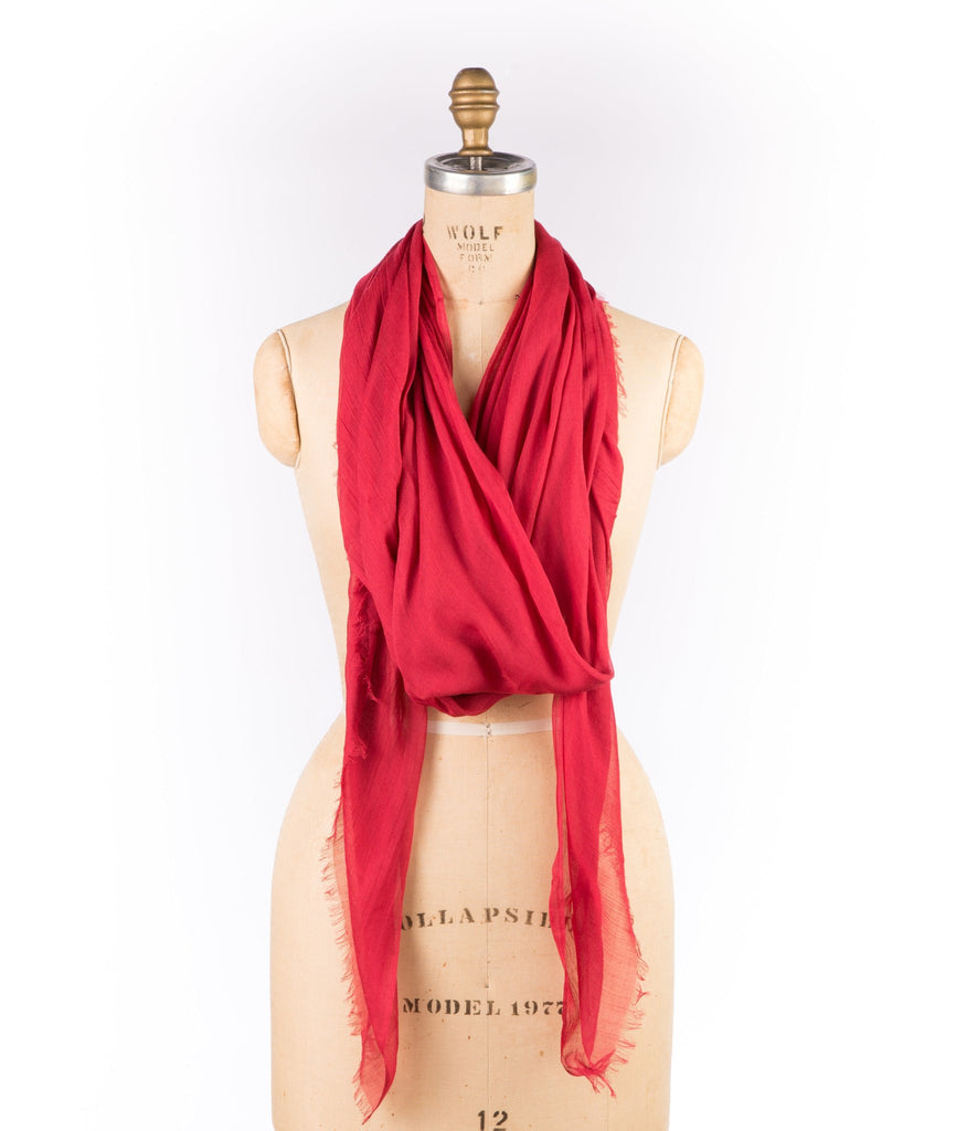 Merino Wool Modal - Red - SOLD OUT