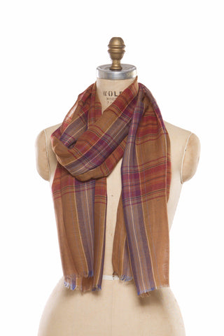 Silk Wool Plaid - Yellow
