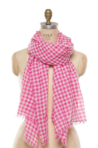 Cotton - Pink Check