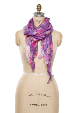 Silk Chiffon- Purple