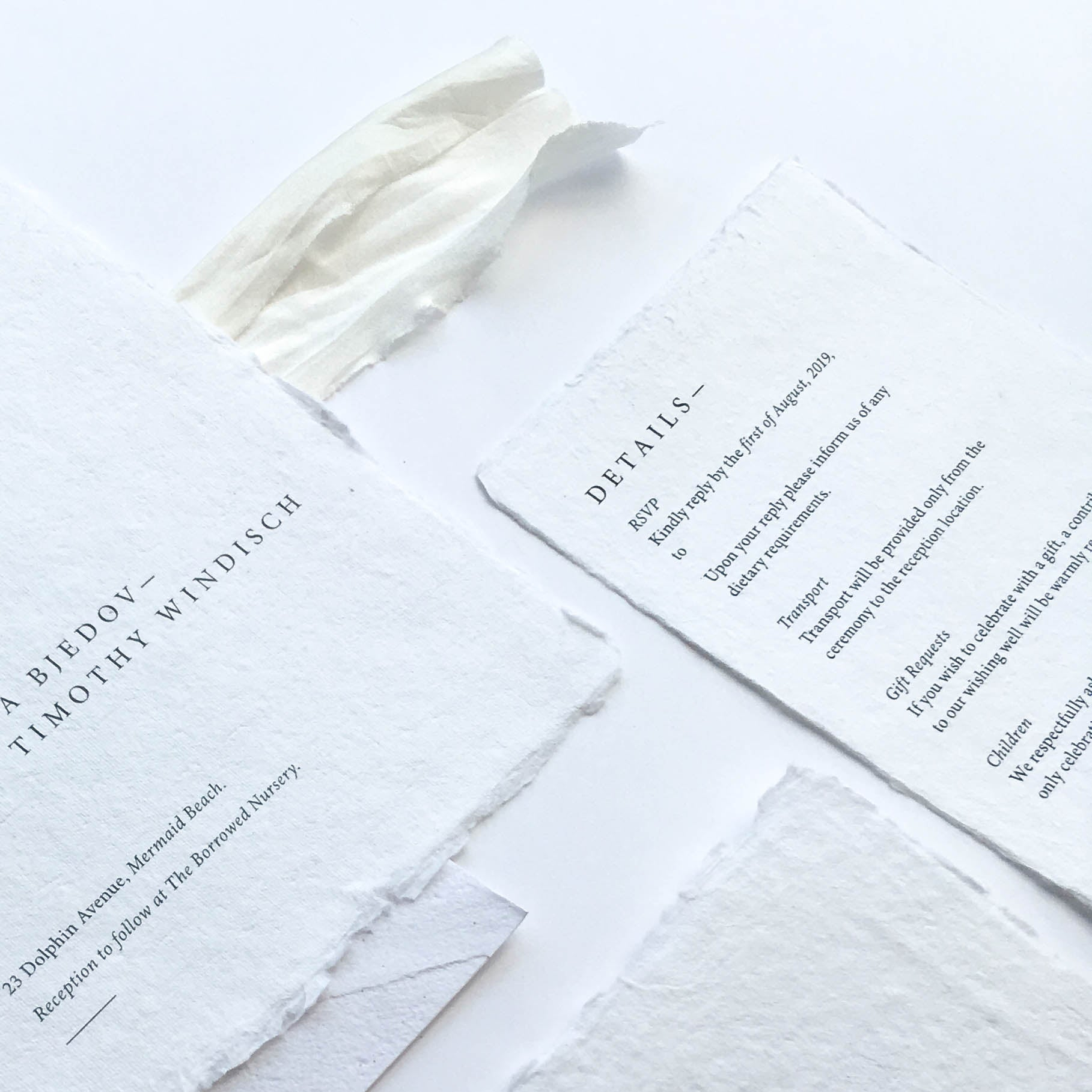 Classic Type Details Card