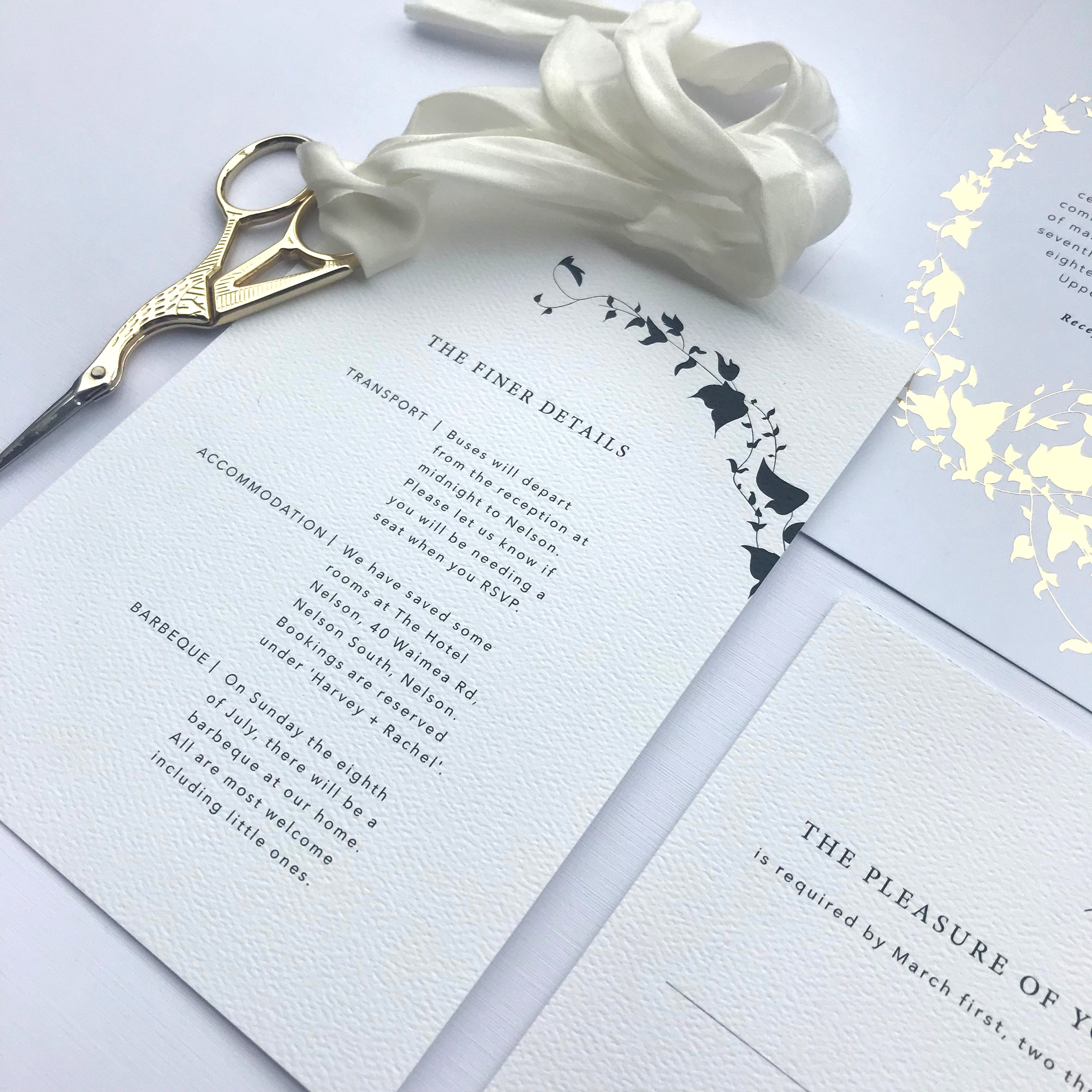 Ivy Love Details Card