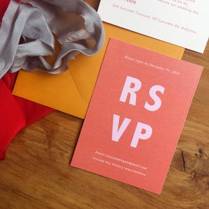 Stacey RSVP Card