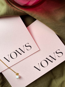 *Limited Edition* Vow Book Set