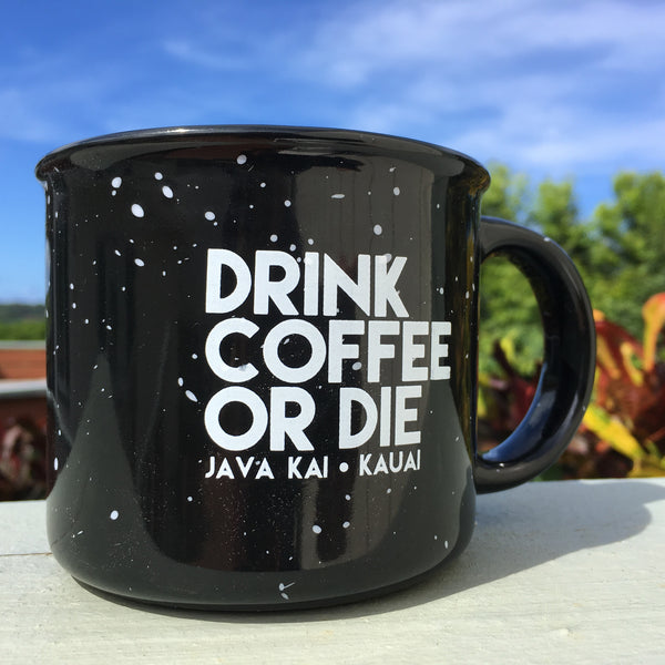 DRINK COFFEE OR DIE // Camp Mug