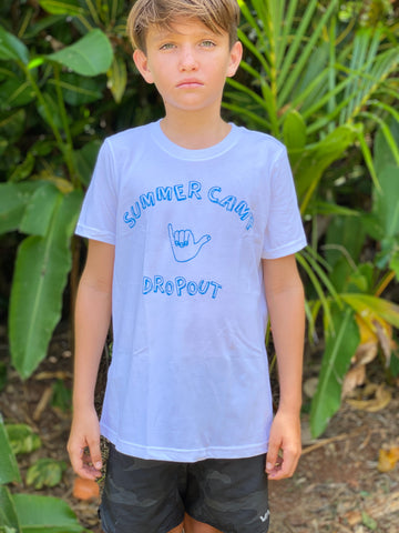 Summer Camp Dropout // White or Grey // Keiki