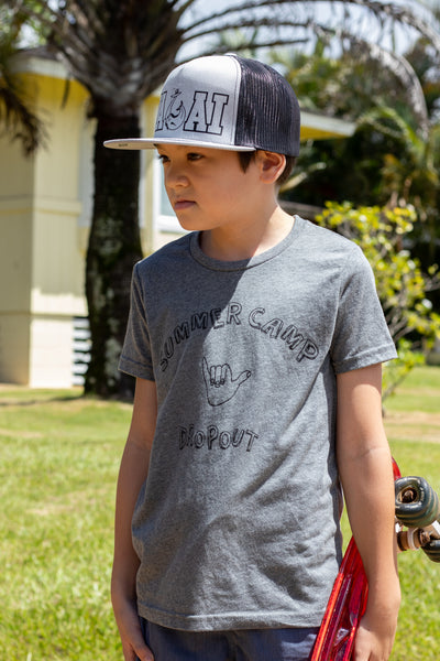 Kids Summer Camp Dropout Tee
