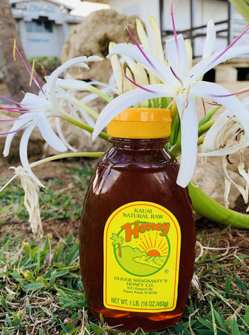 Kauai Raw Honey // One Pounder