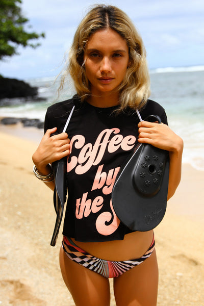 COFFEE BY THE SEA T-shirt