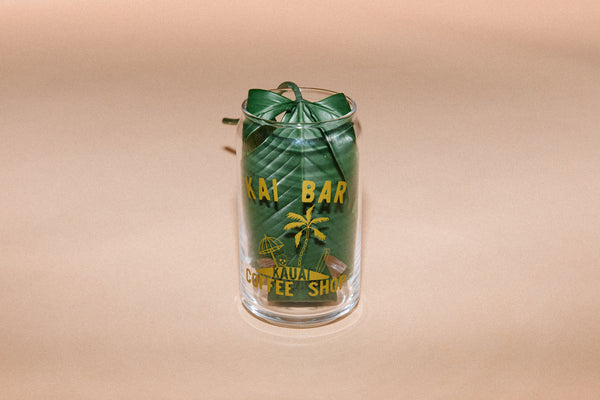 Kai Bar Coffee Shop // 16OZ Soda Can Glass
