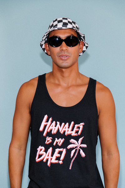 Hanalei Is My Bae Tank // Black // Unisex