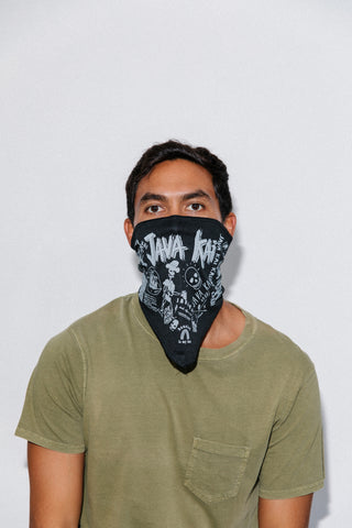 Bandana Java Kai Face Masks