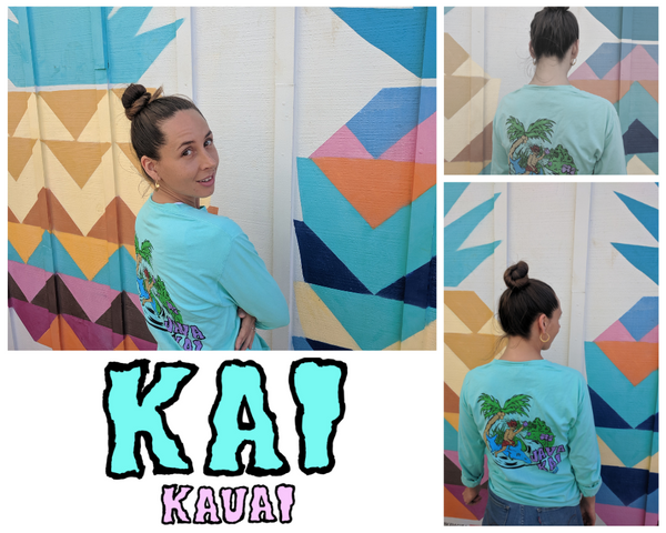 JAVA KAI X DEAD GRINGO LONG SLEEVE | TEAL