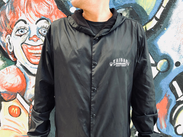 COACHES JACKET / COFFEE ROASTERS + SURF RATS