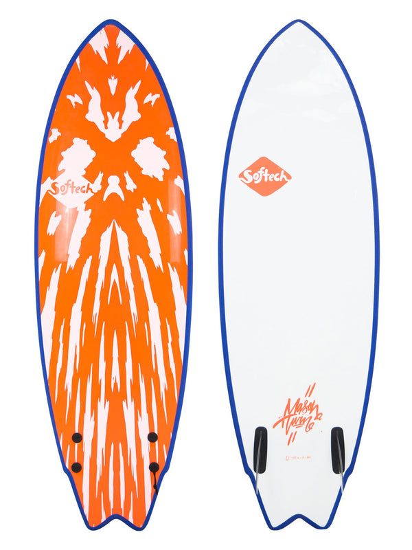 Softech Mason Ho Twin Fin Orange