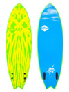 Softech Mason Ho Twin Fin Yellow