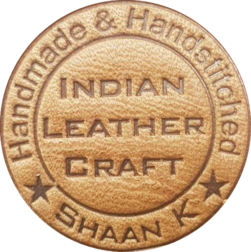 indian leather craft logo