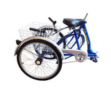 "Belize Bike Tri-Rider 24"" Folding Adult Trike"
