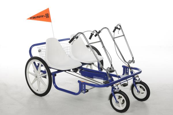 "Trailmate Double Joyrider 24"" Tandem Quadricycle"