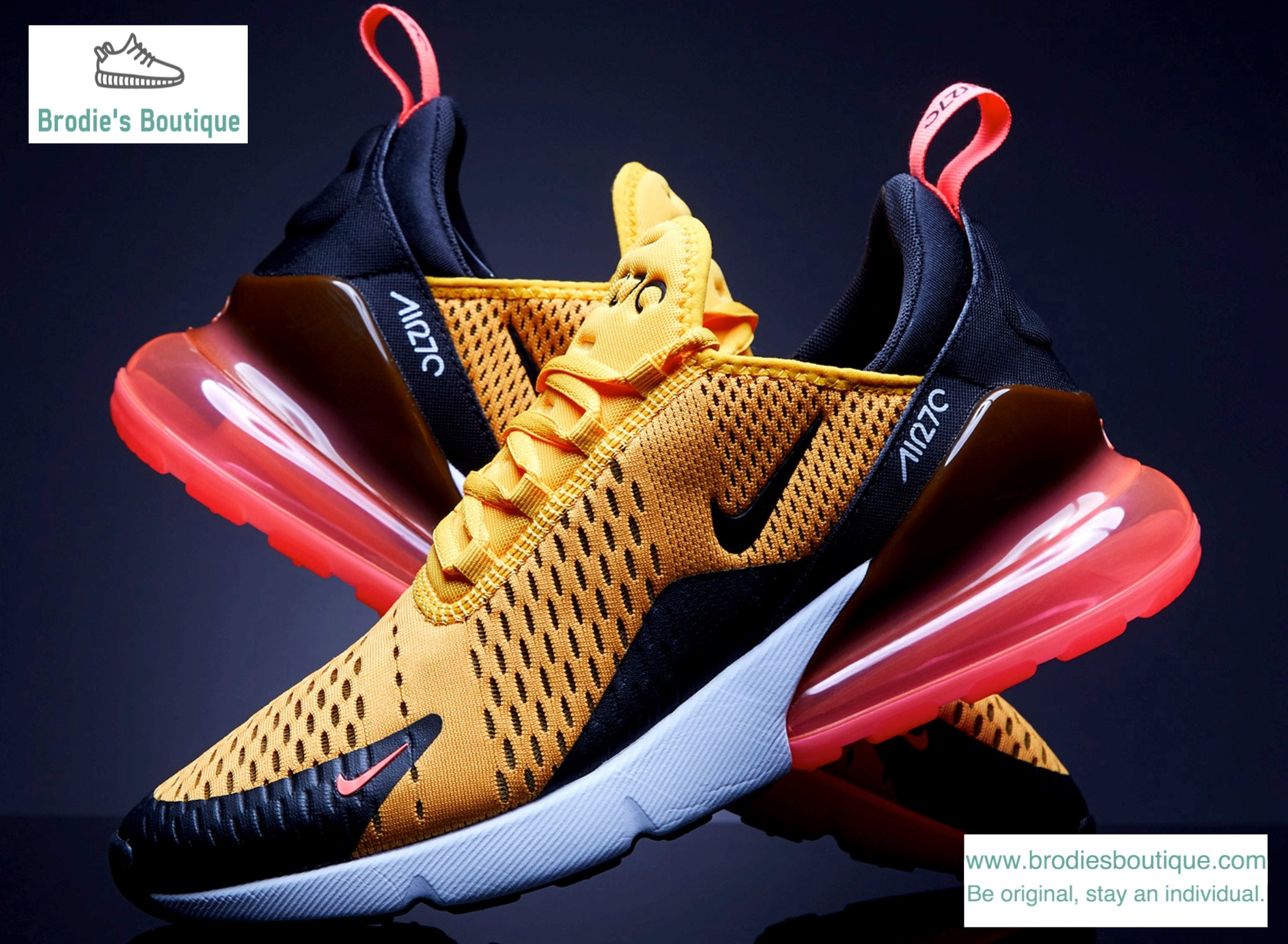 864f6c872b ... coupon code nike air max 270 tiger university gold hot punch uk 7 11  eur 41