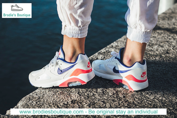 Nike Air Max 180 OG Ultramarine Solar Red White UK 7-11 EUR 41-46 615287-100