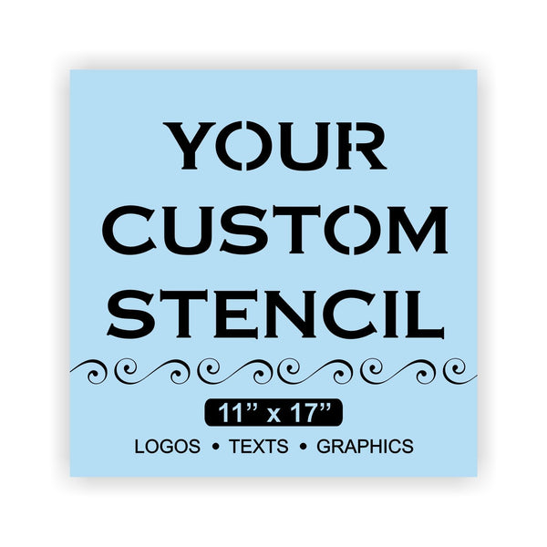 Custom Stencil For Wood Sign,  Reusable & Thick, Paint Your Own Wood Sign