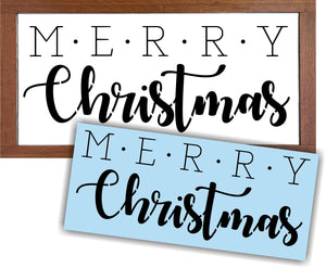 Merry Christmas Stencil, Reusable Stencils, Christmas Stencil, Plastic Stencil, Sign Painting, Home Decor Signs, Christmas Sign